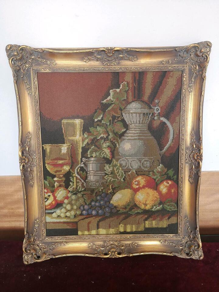 Antik Bilder Gemälde Rahmen Malerei Kunstwerk Alt in Groß-Gerau
