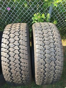 LT275/55/20 inch Goodyear Truck Tires / GOOD DEAL