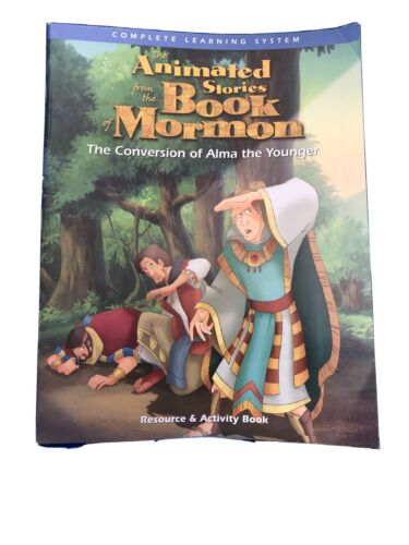 The Conversion Of Alma The Younger Resource And Activity Book Animated Stories - $1.25
