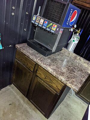 Pepsi Fountain Machine Countertop Soda Dispenser System - Complete
