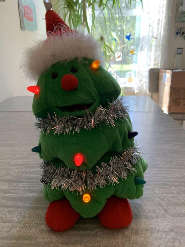 Dancing Singing Animated Christmas Tree Plush Dept 56