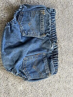 Vintage Little Levi's Orange Tab Shorts 6 Month