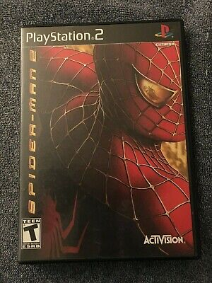 Spider-Man 2 Video Game (Sony PlayStation 2, PS2) Complete Tested!!!