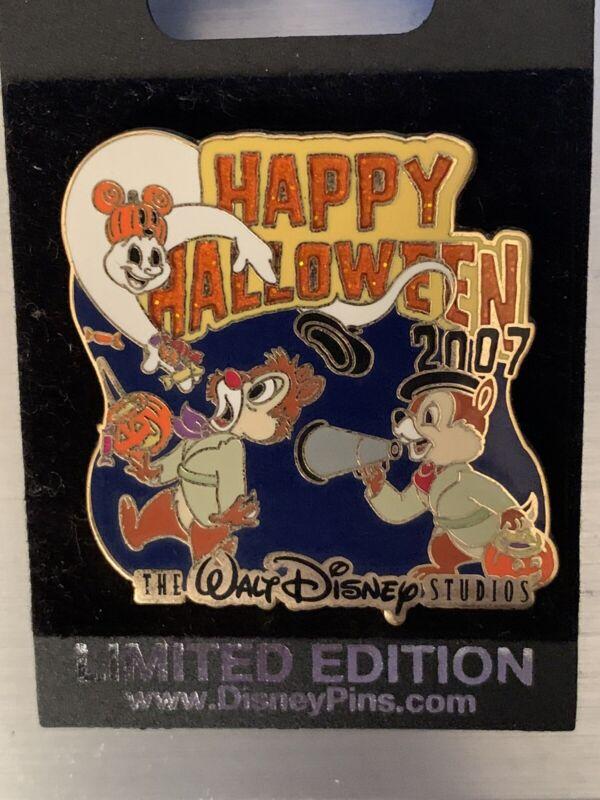 Walt Disney Studios - Chip and Dale Happy Halloween Pin LE 750
