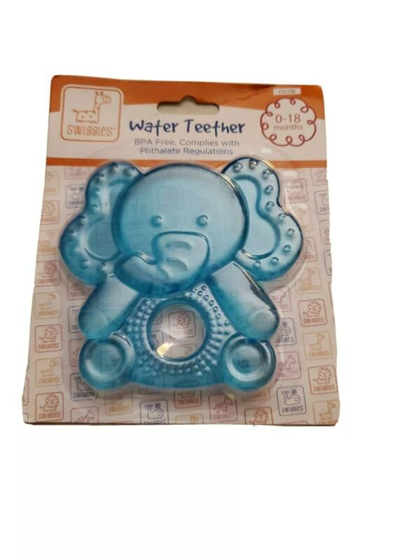 Swiggies Water Teether Elephant 0-18 Months