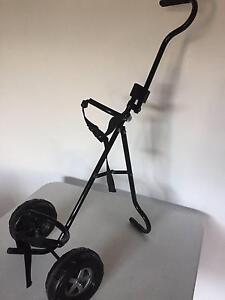 YOUNG CHILDS GOLF BAG CART TROLLEY Balwyn Boroondara Area Preview
