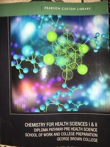 Chemistry for health sciences 1 & 2