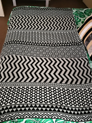 Black, white, grey throw Butler Wanneroo Area Preview
