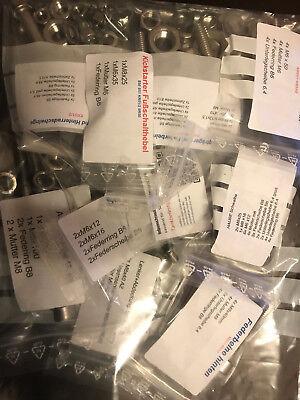Edelstahlschrauben Set für Simson Schwalbe KR51/2  Innensechkant  Rostfrei V2A