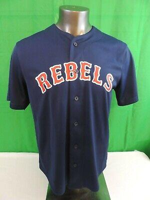 Star Wars Rebels 77 Jersey Blue Baseball Mad Engine SMALL EUC - Mad Baseball Jersey