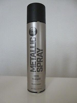Rose-Gold Spray metallic 1 x 400 ml (34,87 EUR/ Lit.)