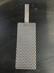 Titanium Mesh for Anodizing or Plating. Durable .078