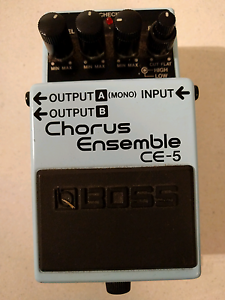 Boss CE-5 Chorus Pedal Campbelltown Campbelltown Area Preview