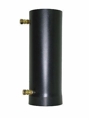 200mm Intercambiador de Calor Gases Escape Gas Combustión AWT-7/200-VA