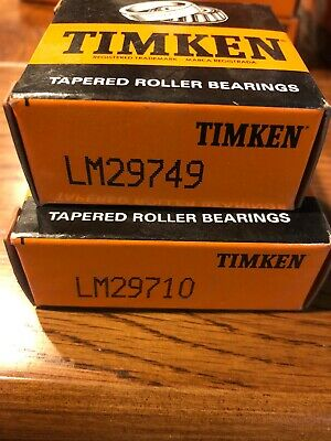New Timken Lm29749lm29710 Tapered Roller Bearing Set 70