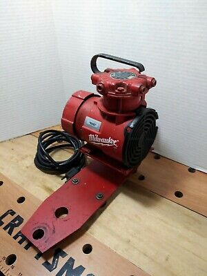 Milwaukee Vacuum Pump 49-50-0160 For Dymodrill Core Drill  Coring Rig