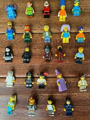 Lego Minifigures- Series 6 12 13 Simpsons Disney- You Pick Any Figure $4.99