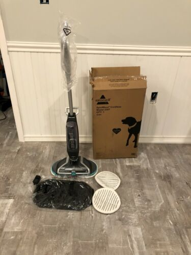 BISSELL Spinwave Cordless Hard Floor Mop - Silver
