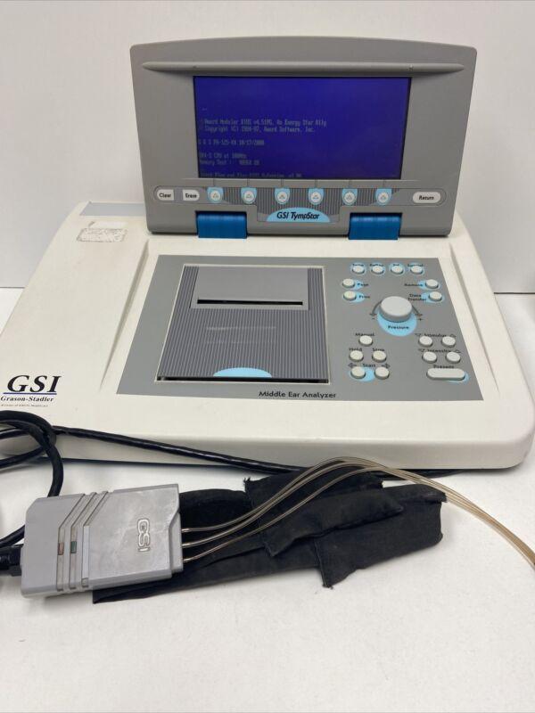 Grason-Stadler GSI Tympstar 2000-97xx Tympanometer Middle Ear Analyzer