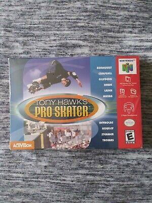 Tony Hawk's Pro Skater - BRAND NEW SEALED (Nintendo 64, 2000) N64