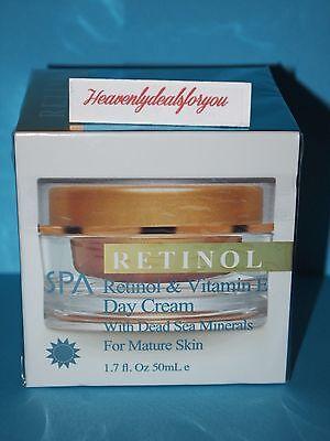 Nib Spa Cosmetics Spa Retinol   Vitamin E Day Cream W Dead Sea Minerals  1 7Oz