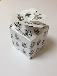LARGE-cup-cake-muffin-boxes-wedding-favour-heart-lid-pack-x10-sweet-box