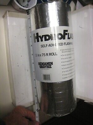1roll Benjamin Obdyke Hydroflash 12 X 75 - 1 Roll House Wrap Flashing Tape