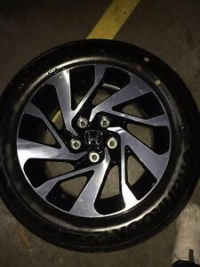 Honda Civic 2016 Vti-S wheels and tyres x 4 Brand New Ryde Ryde Area Preview