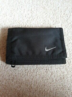 Nike Wallet Black Trifold Space For Cards And Cash Good For Holiday Summer