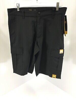 7 Pocket-cargo-shorts (Lee Mens Lightweight 7 Pocket Cargo Shorts Color Black Size 32 NWT)