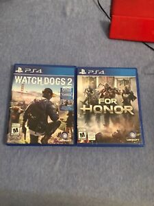 Watch dogs and for honor