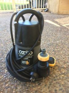 Ozito dirty water submersible / water pump Shortland Newcastle Area Preview