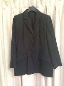 3 Piece (jacket, pants & skirt) grey pinstriped office suit Ashfield Ashfield Area Preview
