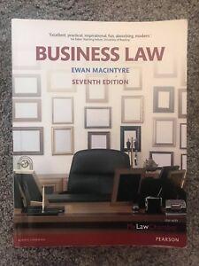Business Law, Ewan Macintyre, 7th Edition, 2014