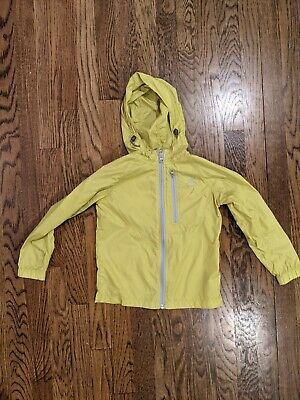 K-way Kids Rain Jacket Yellow 5 Years 5 - 6 K Way NWOT