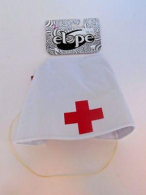 Sale! White Nurse Red Cross Hat Costume Accessory Theater Cosplay Halloween  - Nurse Halloween Costumes Sale