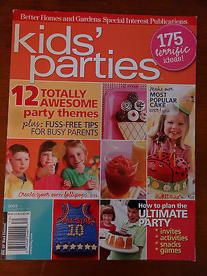 Better Homes and Gardens Kids' Parties & Bright Ideas Party Themes - Best Theme Parties
