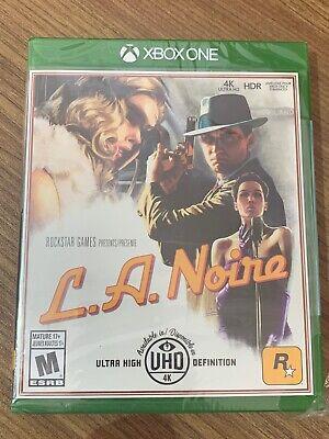 NEW XBox One LA Noire L.A. Noire Sealed Canada Microsoft 4K Ultra HD