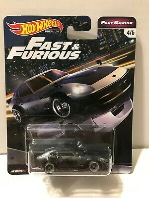 NEW Hot Wheels Fast & Furious Fast Rewind Nissan Fairlady Z Real Riders 4/5 1:64