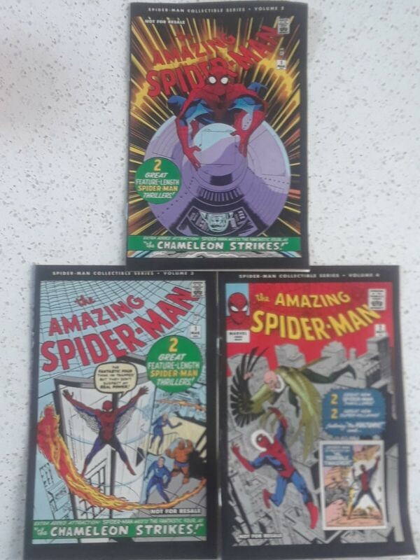 The Amazing Spiderman 1963 Collectible Series Volumes 2 to 4