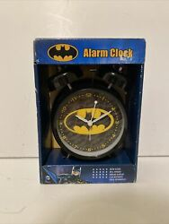 New - Batman Alarm Desk Clock 3.75 Room Decor Nice for Gifts - Free Shipping