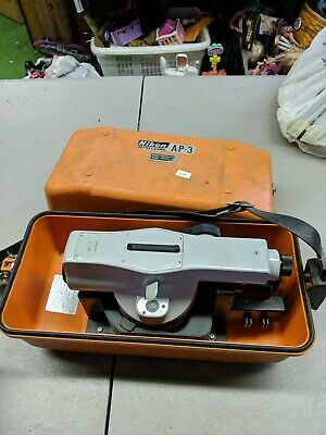 Nikon Ap-3 Auto Level For Surveying And Construction With Case