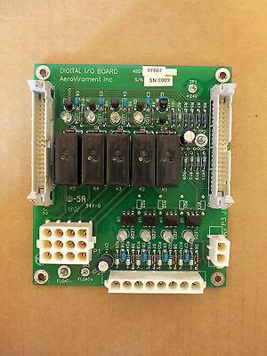 Aerovironment Digital I O Board 07607 Av 07608 Circuit Board