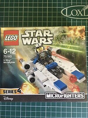 LEGO Star Wars 75160 - U-Wing Microfighter Series 4 - Brand New Unopened