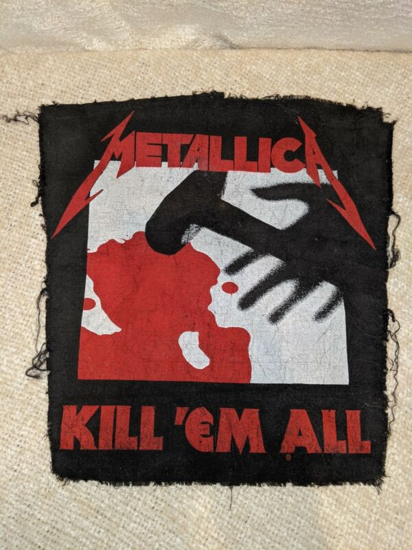 Original Vintage Metallica Kill