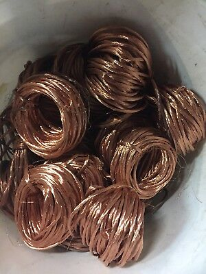 20 Lbs Clean Bare Scrap Copper Wire For Crafts Jewelry Melt