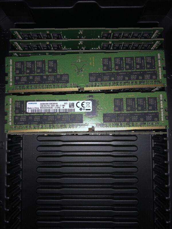 M393A4K40CB2-CTD Samsung 32GB PC4-21300 DDR4-2666MHz ECC Registered CL19 288-Pin