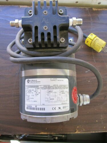 GE Vacuum Pump 5KH39QNA038BX 1/8hp YVJ060074
