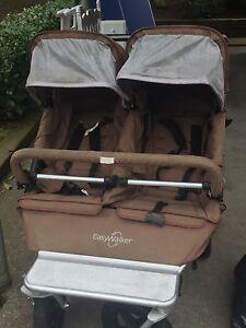 Easy walker double stroller