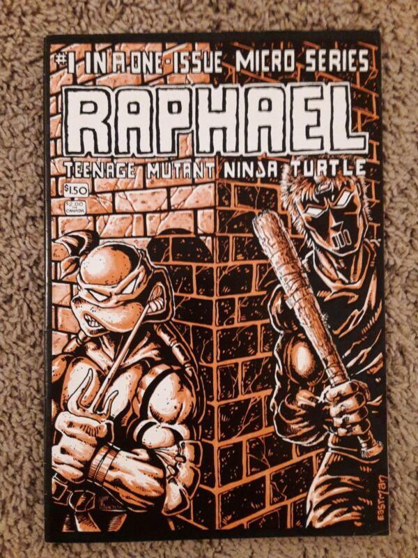 Teenage Mutant Ninja Turtles Raphael #1 1st App Casey Jones TMNT Mirage 1985